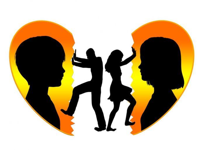 Broken Heart in Custody Quarrels